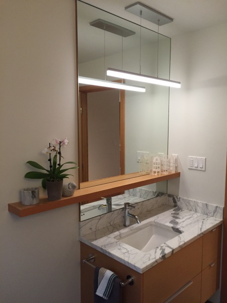 Bathroom Shelf & Mirror